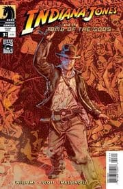 Indiana Jones & Tomb Of The Gods #3 (2008) Dark Horse comic book