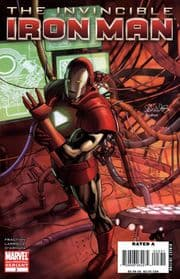 Invincible Iron Man #3 2nd Second Print Variant Cover Marvel comic book