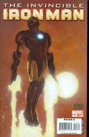 Invincible Iron Man #3 Travis Charest Cover Marvel comic book
