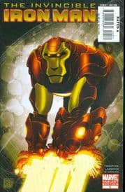 Invincible Iron Man #5 Monkey Retail Incentive Variant Cover (2008) Marvel comic book