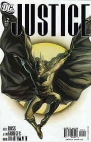 Justice #2 2nd Second Print Variant (2005) Alex Ross DC comic book