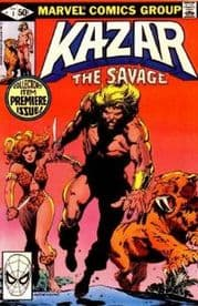 Ka-Zar The Savage