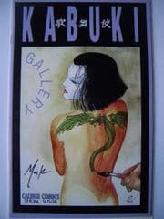 Kabuki Color Gallery #1 DF Signed David Mack COA Ltd 400