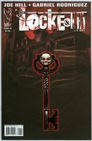 Locke & Key #1 2nd Second Print (2008) 9.6 9.8 CGC It Joe Hill IDW Publishing comic book