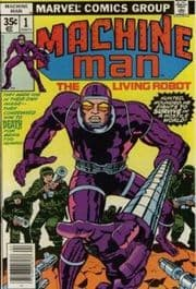 Machine Man Comics (1978 Series)