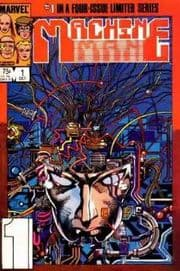Machine Man Comics (1984 Series)
