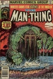 Man-Thing Comics (1979 Series)