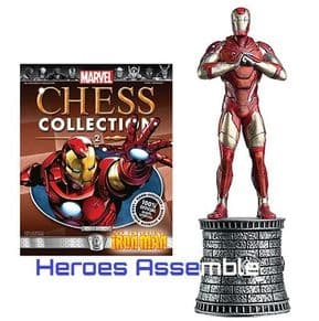 Marvel Chess Collection #02 Iron Man Eaglemoss Publications