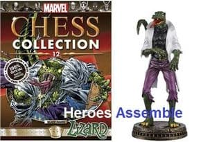 Marvel Chess Collection #12 The Lizard Eaglemoss Publications