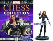 Marvel Chess Collection #25 Black Widow Eaglemoss Publications
