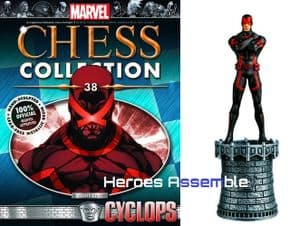 Marvel Chess Collection #38 Cyclops Eaglemoss Publications