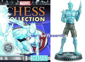 Marvel Chess Collection #52 Iceman Eaglemoss Publications