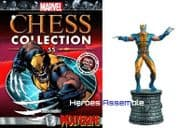 Marvel Chess Collection #55 Wolverine Eaglemoss Publications
