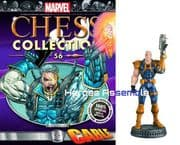 Marvel Chess Collection #56 Cable Eaglemoss Publications