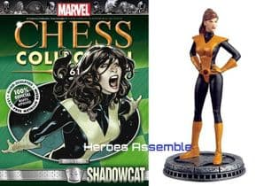Marvel Chess Collection #61 Shadowcat Eaglemoss Publications