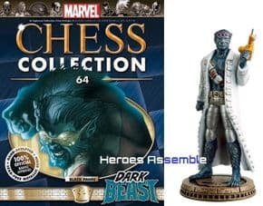 Marvel Chess Collection #64 Dark Beast Eaglemoss Publications