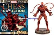 Marvel Chess Collection #76 Carnage Eaglemoss Publications