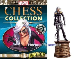 Marvel Chess Collection #86 Black Cat Eaglemoss Publications