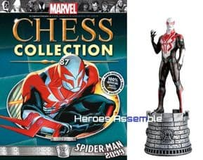 Marvel Chess Collection #87 Spider-man 2099 Eaglemoss Publications