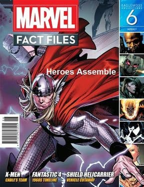 Marvel Fact Files #06 Eaglemoss Publications
