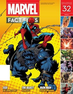 Marvel Fact Files #32 Eaglemoss Publications