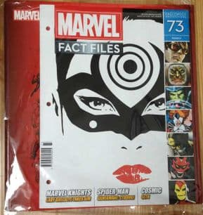 Marvel Fact Files #73 With Free Binder Eaglemoss Publications