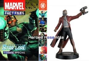 Marvel Fact Files Cosmic Special #2 Starlord With Figurine Eaglemoss