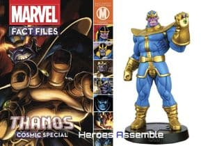 Marvel Fact Files Cosmic Special #3 Thanos With Figurine Eaglemoss