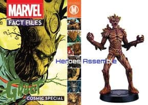 Marvel Fact Files Cosmic Special #5 Groot With Figurine Eaglemoss
