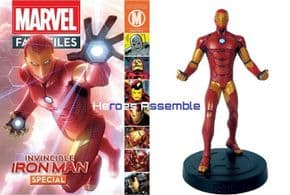 Marvel Fact Files Iron Man Special With Figurine Eaglemoss