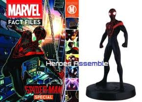 Marvel Fact Files Mile Morales Ultimate Spider-man Special With Figurine Eaglemoss