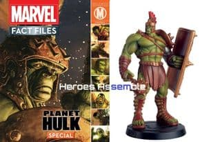 Marvel Fact Files Planet Hulk Special With Figurine Eaglemoss