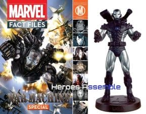 Marvel Fact Files War Machine Special With Figurine Eaglemoss