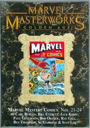 Marvel Masterworks #166 Golden Age Marvel Mystery Comics Direct Market Gold Foil Variant Hardcover