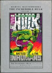 Marvel Masterworks Incredible Hulk Volume 4 Sealed Hardcover