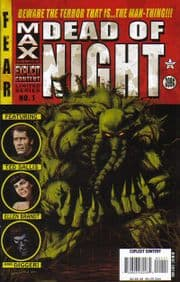 Marvel Max Dead of Night #1 Man-Thing Parental Advisory
