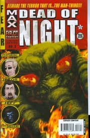Marvel Max Dead of Night #3 Man-Thing Parental Advisory