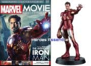 Marvel Movie Collection #001 Iron Man Figurine Eaglemoss Publications