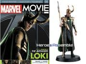 Marvel Movie Collection #005 Loki Figurine Eaglemoss Publications