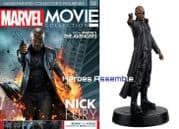 Marvel Movie Collection #006 Nick Fury Figurine Eaglemoss Publications