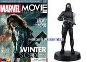 Marvel Movie Collection #010 Winter Soldier Figurine Eaglemoss Publications