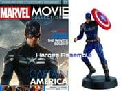 Marvel Movie Collection #017 Captain America Stealth Suit Figurine Eaglemoss Publications