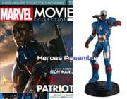 Marvel Movie Collection #023 Iron Patriot Figurine Eaglemoss Publications