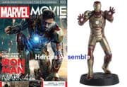 Marvel Movie Collection #100  Iron Man Mark 42 Figurine Eaglemoss Publications