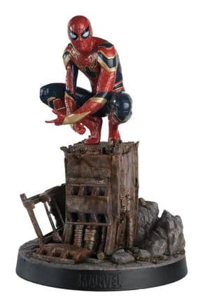 Marvel Movie Collection Mega #9 Iron Spider Statue Spider-man Avengers Infinity War Eaglemoss