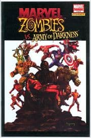 Marvel Zombies vs. Army of Darkness #3 Dynamite Entertainment Variant AOD comic book