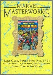 Marvel Masterworks #248 Luke Cage Power Man Volume 2 Direct Market Gold Foil Variant Cover Hardcover