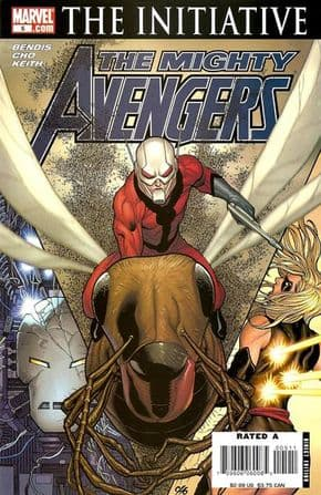 Mighty Avengers #5 The Initiative Marvel comic book SALE