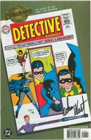 Millennium Edition Detective Comics #327 Dynamic Forces Signed Adam West Batman TV Actor DF COA DC comic book