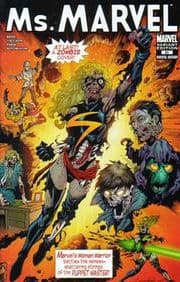 Ms. Marvel #20 Zombies Variant comic book